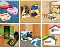 Products display banner designs