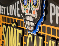 Stree Love Project | Handmade Poster Soñé Calavera ||