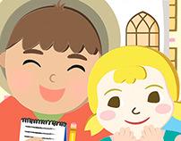 Illustrations for St. Columba's Creative Communities