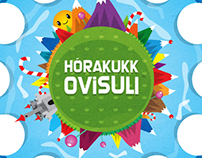 Hórakukk Clock design