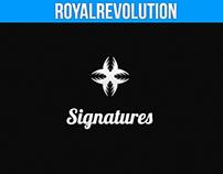 -Signatures.