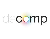 Decomp Magazine Rebranding.