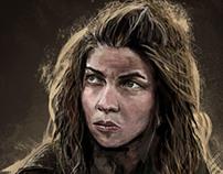 Digital Painting - Osha - Game of Thrones