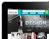 Deca - Site versão mobile