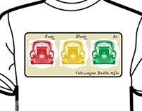 Vintage Cars T-Shirt Project