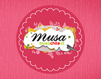 Redes Sociales Musa Chile