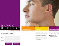 Sitio web Banco RIpley | Propuesta