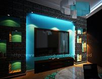 aqua living room ;)