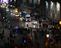 Parade - tilt-shift timelapse