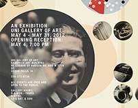 Lazlo Moholy Nagy Mock Exhibition Collateral