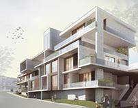 Experimental apartment house