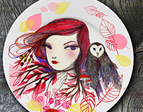 Home Decor: Plate Collection
