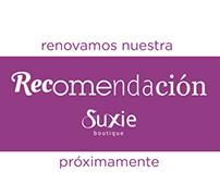 Recomendación (contenido para facebook) SuxieBoutique
