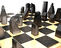 Salt and carbon chess