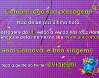 Viaje Util - Newsletter Carnaval