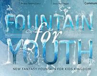 """Fountain for Youth"" Editorial Design   Enjoy Magazine"
