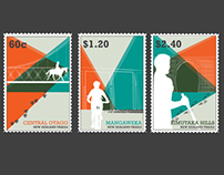 New Zealand Stamp Set