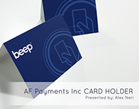 AF Payments Inc. - beep(TM) Card Holder for Giveaways