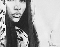 Nicki Minaj Drawing