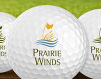Prairie Winds Golf Club Branding