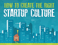 Infographic : How To Create The Right Startup Culture