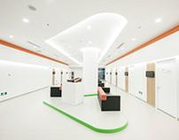 Le Jian Medical Center / 乐健体检中心室内设计