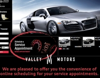 Valley Motors Marketing pieces