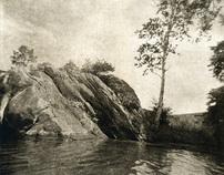 New Work: Lake Garfield (solar plate etchings)