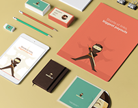 shorte.st website, branding and game