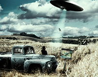 Photomanipulation Invaders