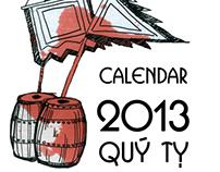 Desk calendar 2013