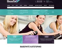 HouseFit/Sport Online Store