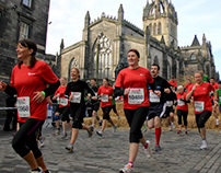 Men's Health Survival of the Fittest Edinburgh 2012