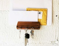 Key Holder and Mail Holder