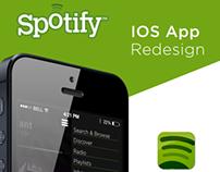 Spotify IOS App redesign   Aquatine entry