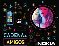 Afiche // Nokia - MDNA Tour 2013