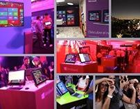 Dirección de Arte // Microsoft - Windows 8 Lanzamiento