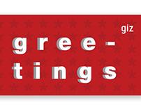 Greeting card GIZ