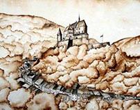 Castle of Vianden , Luxembourg