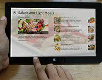 Windows 8 Recipe App Concept