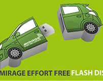 Mitsubishi Mirage Merchandising Concept