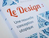 Mémoire de Master Design, l'utopie dans le design