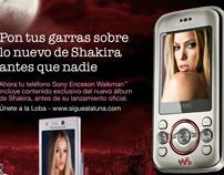 Sony Ericsson W395 LATAM campaign