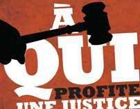 Affiche pour l'Association des juristes de l'État