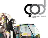 90D magazine:1st issue  مجلة دليل الابداع:العدد الاول