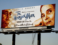 THE WRONGED MAN movie poster
