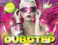 Dubstep Party Flyer