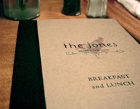 The Jones Visual Identity