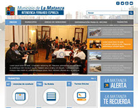 Rediseño web Municipio La Matanza - Prov de Bs As
