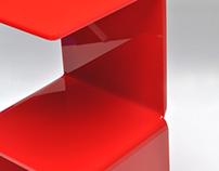 Vermelha side table